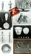 Books:Prints & Leaves, [Phoenician Sculpture/Metal Work]. Small Archive of MaterialRelating to Phoenician Sculpture and Metal Work. May include ph...