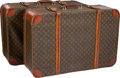 "Luxury Accessories:Travel/Trunks, Louis Vuitton Set of Two; Classic Monogram Canvas Trunks. FairCondition. 31"" Width x 20"" Height x 9.5"" Depth. ...(Total: 2 Items)"