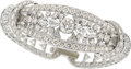 Estate Jewelry:Bracelets, Diamond, Platinum Bracelet, circa 1950. ...