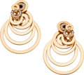 Estate Jewelry:Earrings, Diamond, Gold Earrings, de Grisogono. ...