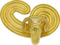 Estate Jewelry:Brooches - Pins, Gold Brooch, Lalaounis. ...