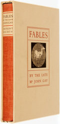 Books:Americana & American History, Gillian Lewis Tyler, illustrations. SIGNED/LIMITED. John Gay.Fables by the Late Mr. John Gay. Barre: Imprint So...