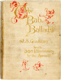 Books:Literature Pre-1900, W. S. Gilbert. The Bab Ballads, with Which Are Included Songs ofa Savoyard. London and New York: George Routled...
