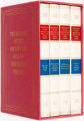 Books:World History, Edward Gibbon. The History of the Decline and Fall of the Roman Empire. London: The Folio Society, [1995]. Four volu... (Total: 4 Items)