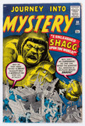 Silver Age (1956-1969):Mystery, Journey Into Mystery #59 (Marvel, 1960) Condition: FN/VF....