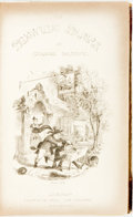 Books:Literature Pre-1900, Charles Dickens. The Posthumous Papers of the Pickwick Club.London: Chapman and Hall, 1837. First Edition. Illu...