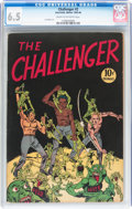 Golden Age (1938-1955):Non-Fiction, Challenger #2 (Interfaith Committee, 1945) CGC FN+ 6.5 Cream tooff-white pages....