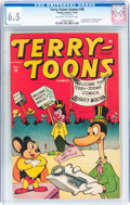 Golden Age (1938-1955):Funny Animal, Terry-Toons Comics #38 (Timely, 1945) CGC FN+ 6.5 Off-white towhite pages....