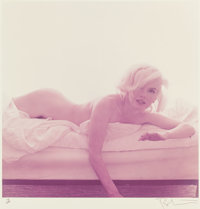BERT STERN (American, 1929-2013) Marilyn Monroe, The Last Sitting Portfolio (Ten Photographs),</