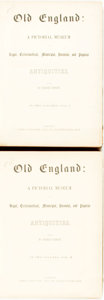 Books:World History, Charles Knight. Old England: A Pictorial Museum of Regal, Ecclesiastical, Municipal, Baronial, and Popular Antiquities. Lond... (Total: 2 Items)