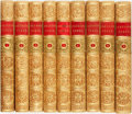 Books:Literature Pre-1900, [Samuel Johnson.] The Works of Samuel Johnson, LL.D. Oxford:Talboys and Wheeler, 1825. Nine volumes.... (Total: 9 Items)