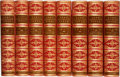 Books:Literature Pre-1900, [John Macaulay.] The Works of Lord Macaulay. London: Longmans, Green, and Co., 1866. Eight volumes.... (Total: 8 Items)
