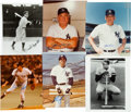 Autographs:Photos, 1940's-80's New York Yankees Hall of Famers Photographs Lot of13....