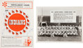 Baseball Collectibles:Publications, 1955 Roger Maris Signed Reading Indians Program. ...