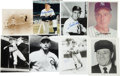 Autographs:Photos, 1930's-80's Deceased Hall of Famers Signed Photographs Lot of36....