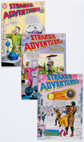 Silver Age (1956-1969):Science Fiction, Strange Adventures Group (DC, 1962-73) Condition: Average VG....(Total: 64 Comic Books)