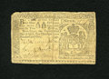Colonial Notes:New York, New York April 21, 1760 £2 Fine. This note has been cut in half andbacked in order to repair it. The bottom edge shows wea...