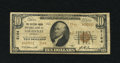 National Bank Notes:Kentucky, Louisville, KY - $10 1929 Ty. 2 The Citizens Union NB Ch. # 2164....