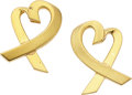 Estate Jewelry:Earrings, Gold Earrings, Paloma Picasso for Tiffany & Co.. ...
