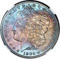 Morgan Dollars, 1904 $1 MS66 NGC. CAC....