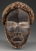 Tribal Art, DAN FEMALE MASK. (LIBERIA, WESTERN AFRICA)...