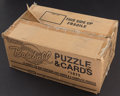Baseball Cards:Unopened Packs/Display Boxes, 1987 Donruss Baseball Factory Case With 15 Sets. ...