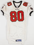 Football Collectibles:Uniforms, 2006 Michael Clayton Game Worn, Unwashed, Signed Tampa Bay Buccaneers Jersey....