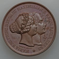 German States:Bavaria, German States: Bavaria. Maximilian and Marie bronze Wedding Medal1842 UNC,...
