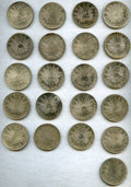 Mexico, Mexico: Republic Lot of Twenty-One 8 Reales Coins,... (Total: 21coins)