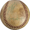 Baseball Collectibles:Balls, 1967 Pittsburgh Pirates Multi Signed Baseball with Clemente. ...