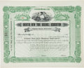 Baseball Collectibles:Others, 1903 New York Yankees Stock Certificate--Rare Unissued Example....