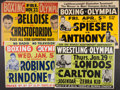Miscellaneous Collectibles:General, Misc. Sports and Non Sports Promotional Posters Lot of 7 - With RayRobinson....