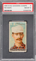 Baseball Cards:Singles (Pre-1930), 1888 N162 Goodwin Champions Tim Keefe/Baseball PSA NM-MT 8 -Pop Two, None Higher. ...