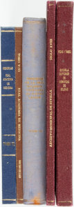 Books:World History, Group of Five Spanish Language Books. Various publishers and dates. ... (Total: 5 Items)