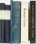 Books:Reference & Bibliography, [Numismatics]. Group of Six Books on Coins. Various publishers anddates.... (Total: 6 Items)