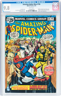 The Amazing Spider-Man #156 (Marvel, 1976) CGC NM/MT 9.8 White pages