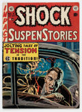 Golden Age (1938-1955):Horror, Shock SuspenStories #4 (EC, 1952) Condition: FN/VF....