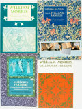 Books:Art & Architecture, [William Morris]. Group of Four Books Featuring Designs by William Morris. Various publishers and dates. ... (Total: 4 Items)