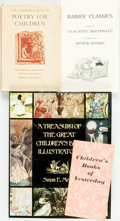 Books:Children's Books, [Children's]. Group of Four Books on Children's Literature and Art.Various publishers and dates. ... (Total: 4 Items)