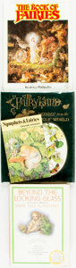 Books:Art & Architecture, [Fairies/Fairy Tales]. Group of Four Books. Various publishers and dates. ... (Total: 4 Items)