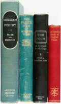 Books:Literature Pre-1900, [Poetry]. Group of Four Books. Various publishers and dates. ...(Total: 4 Items)