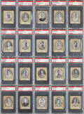 Baseball Cards:Lots, 1909 T204 Ramly PSA Graded Collection (20). ...