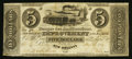 Obsoletes By State:Louisiana, New Orleans, LA- New Orleans Improvement & Banking Company/Banque des Ameliorations $5 May 24, 1836. ...
