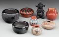 American Indian Art:Pottery, EIGHT MINIATURE SOUTHWEST POTTERY ITEMS... (Total: 8 Items)
