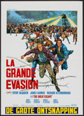"""Movie Posters:War, The Great Escape (United Artists, 1963). Belgian (18"""" X 25""""). War....."""