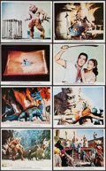 """Movie Posters:Fantasy, The 7th Voyage of Sinbad (Columbia, R-1975). British Front of House Color Photo Set of 8 (8"""" X 10""""). Fantasy.. ... (Total: 8 Items)"""