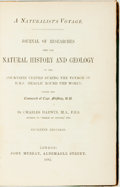 Books:Natural History Books & Prints, Charles Darwin. A Naturalist's Voyage. Journal of Researches into the Natural History and Geology of the Cou...