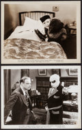 """Movie Posters:Horror, The Invisible Man (Realart, R-1947). Photos (2) (8"""" X 10""""). Horror.. ... (Total: 2 Items)"""