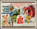 """Movie Posters:Science Fiction, The Lost World (20th Century Fox, 1960). Half Sheet (22"""" X 28"""").Science Fiction.. ..."""