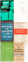 Books:Literature Pre-1900, [Literature/Literary Criticism]. Group of Six Books. Variouspublishers and dates.... (Total: 6 Items)